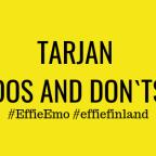 Tarjan Dos and Don`ts