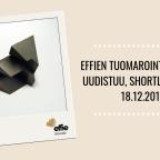 Effien tuomarointiprosessi uudistuu, shortlist julki 18.12.2019