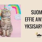Suomi, Effie Awards yksisarvinen