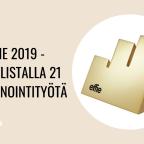 Effie 2019 -shortlistalla 21 markkinointityötä