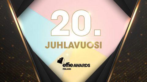 Effie-kilpailun 20. juhlavuosi Suomessa